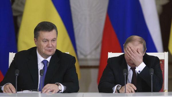 «Путину Владимиру Владимировичу»: Обнародовано письмо-просьба Януковича к президенту России