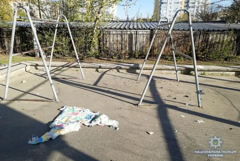 На спортплощадке в Киеве прогремел взрыв