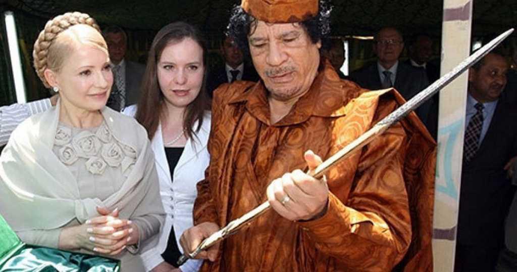 «Сын Каддафи лично привозил деньги для Тимошенко»: Всплыла скандальная информация о спонсорах лидера «Батькивщины»