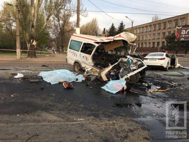 «Столкнулись маршрутка, легковушка и автобус»: Масштабное ДТП в Кривом Роге, 7 погибших и много пострадавших