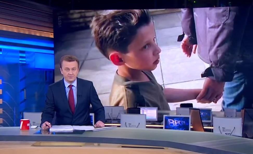 Брат «распятого мальчика» из Донбасса: Сеть подорвало еще одно пропагандистское видео российских СМИ