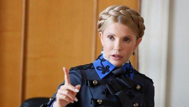 «Настоящий фюрер»: Соцсети взорвала фотография Тимошенко в новом образе