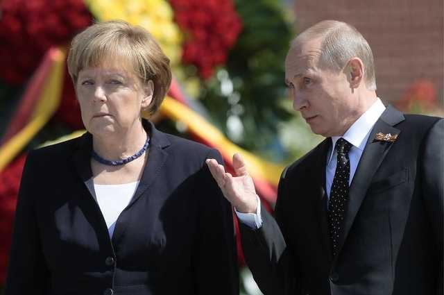 Перед встречей с Порошенко: Для чего Меркель звонила Путину