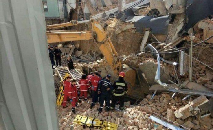 Ужасная трагедия: В Виннице обвалился отель, под завалами остались люди