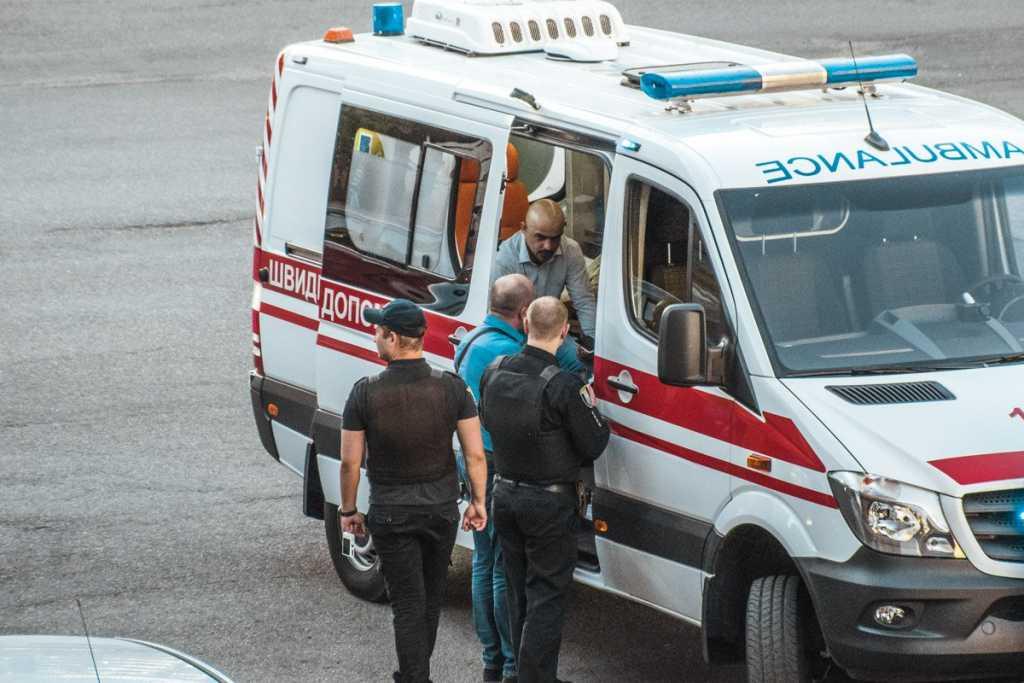 Народного депутата Мустафу Найема избили прямо в центре Киева
