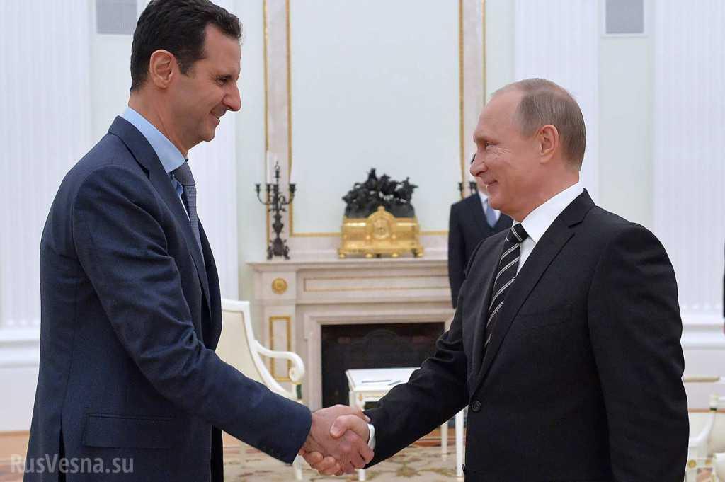 Путин пригрел детейпрезидента Сирии Башара Асада в аннексированномКрыму