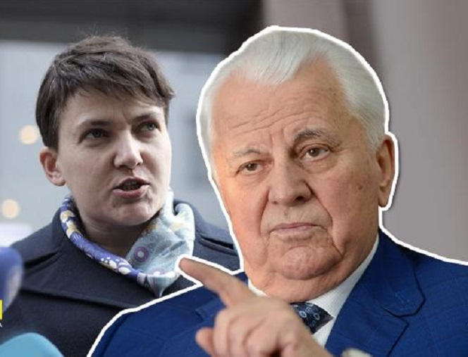 «Я дважды встречался с Савченко. Однажды вместе с Рубаном»: Леонид Кравчук заявил, что знает правду о теракте, который планировала Надежда