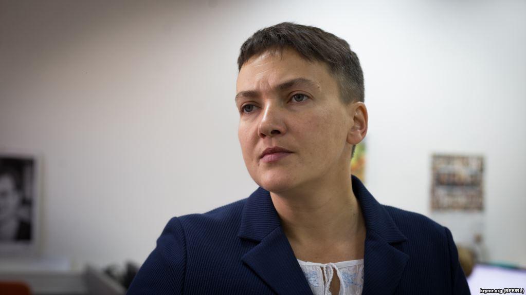 «У Надежды была скорая. Взяли анализы и … «: К Савченко вызвали врачей