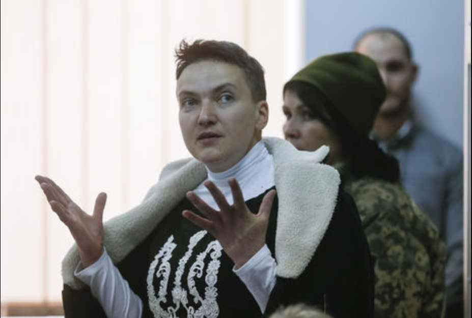 Надежда Савченко сделала новое заявление после допроса на полиграфе