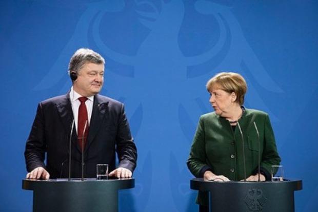 «Больше всего мы нуждаемся …»: С чем Порошенко поедет к Меркель