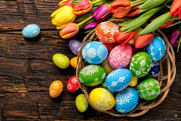 Со светлым праздником Воскресения!