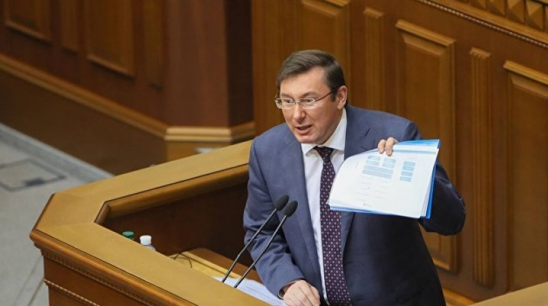 «Оружие выдавали…»: Луценко заявил, что знает имена всех, кто готовил теракт вместе с Савченко