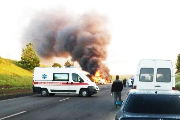 «В результате столкновения произошел взрыв»: ДТП на Ровенщине закончилось смертью