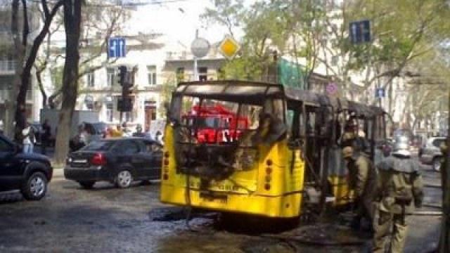 «В салоне было полно людей»: На Львовщине горел рейсовый автобус