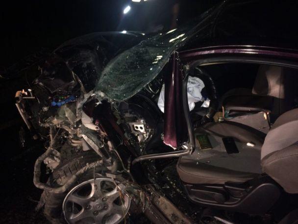 «Они столкнулись лоб в лоб»: В ДТП на Николаевщине погиб мужчина, еще 6 человек — в больнице