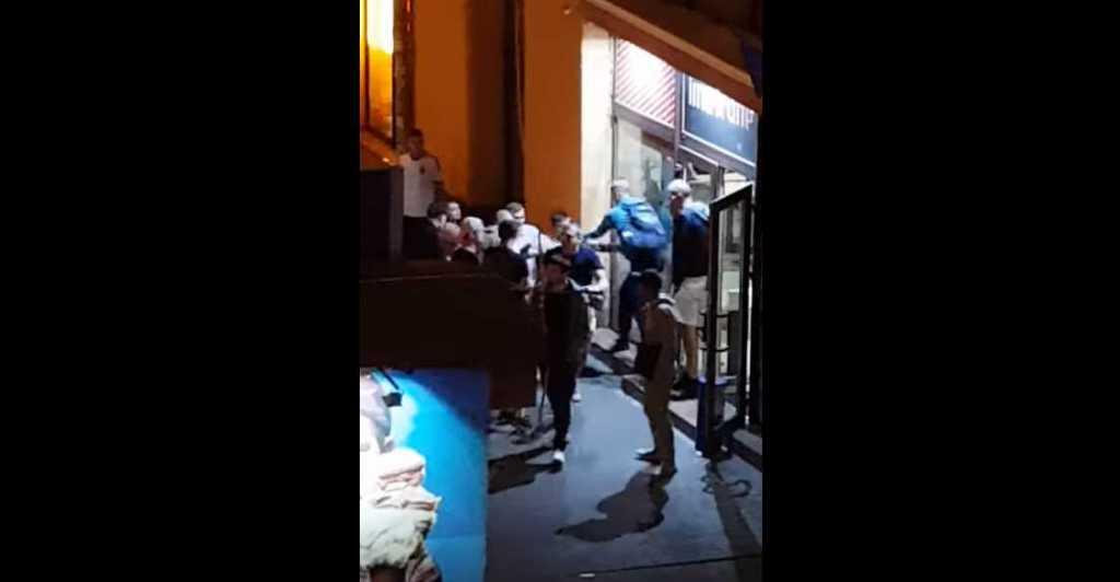 Пока «Ливерпуль» и «Реал» боролись за кубок: В центре Киева вспыхнула массовая драка (ВИДЕО)