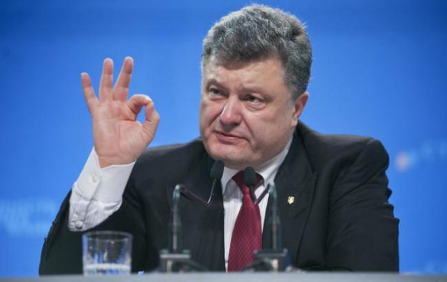 «Жить по-новому» больше не будем, теперь — «Строим Украину ежедневно»: Порошенко удивил заявлением