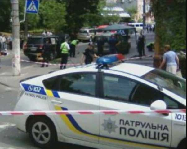 В столице расстреляли авто известного бизнесмена