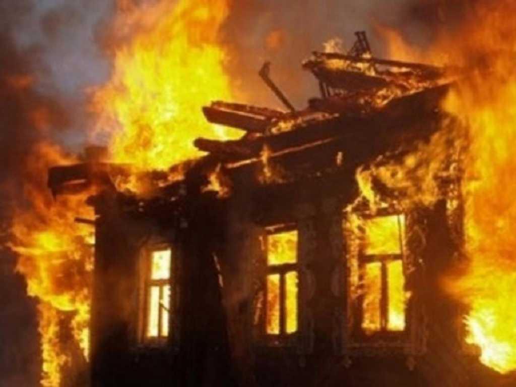 «Весь дом полностью выгорел»: В пожаре погибли люди