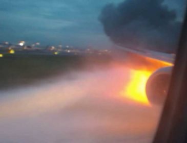 «Услышали взрыв, а через несколько секунд …»:  Над Россией загорелся самолет с футбольными фанатами