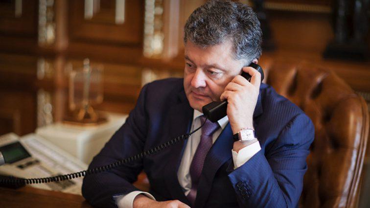 Порошенко позвонил Путину: Стали известны подробности разговора