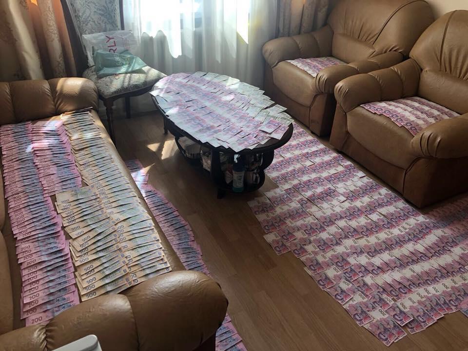 Кабинет был полностью завален деньгами: Луценко показал, как обосновался Житомирский чиновник