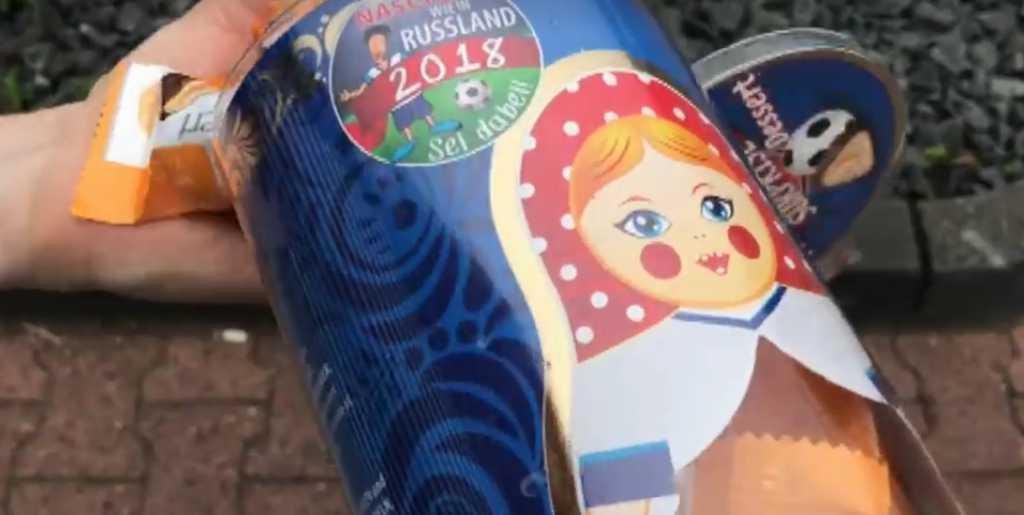 «Вкусные, как в России»: В Украине разгорелся громкий скандал, из-за конфет, которые рекламируют ЧМ-2018