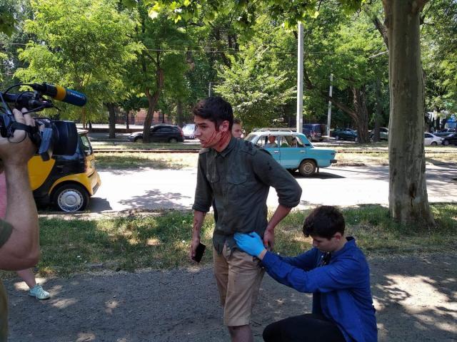 В Одессе совершено покушение на местного лидера «Автомайдана»: Активист госпитализирован. подробности нападения