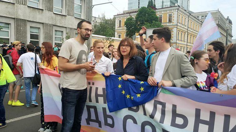Порошенко так и не дождались: Кто из чиновников «засветился» на скандальном «Марше равенства»
