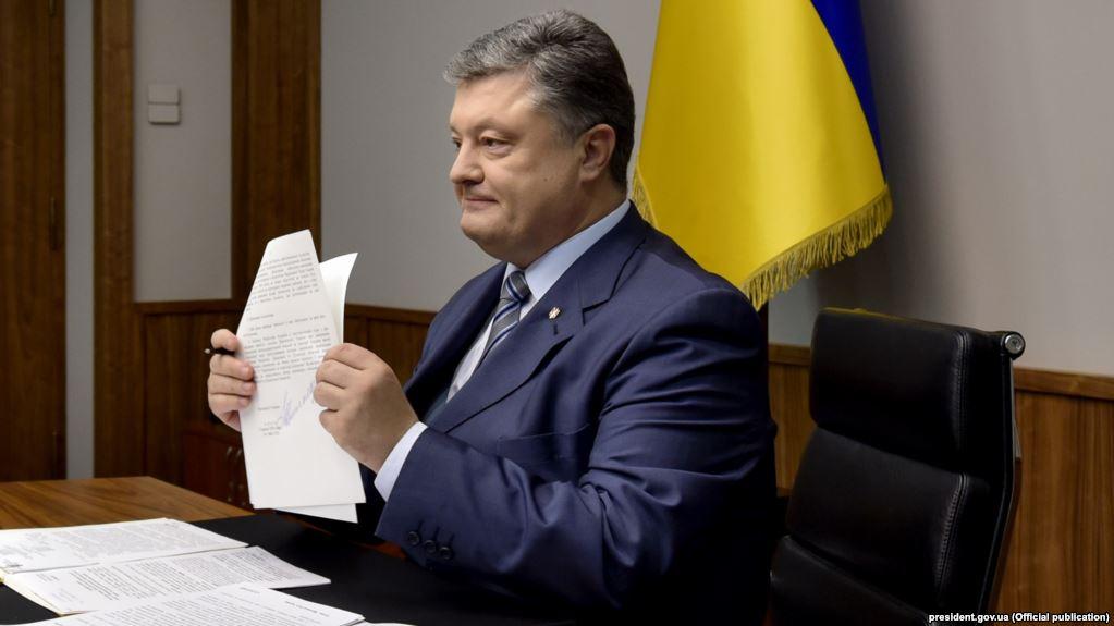 «Мы не прекратим эту борьбу…»: Петр Порошенко показал письмо, которое тронуло украинцев до слез