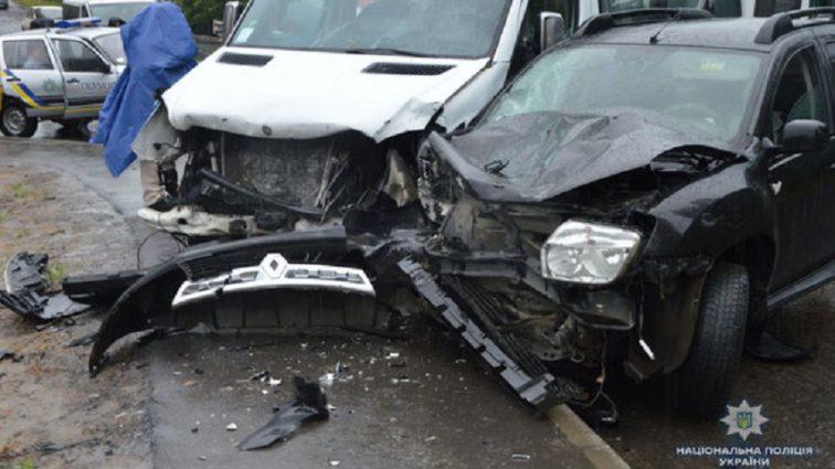 Крупное ДТП на Волыни: Пострадало шесть пассажиров микроавтобуса