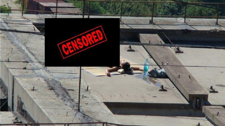 «Экстремальная любовь на самом высоком львовской здании»: Безудержная парочка занялась с * эксом на крыше. Прохожие снимали процесс на камеру