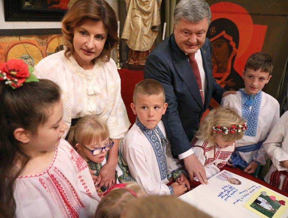 Элегантная Марина Порошенко затмила саму королеву Испании Летисию. Весь королевский двор не мог отвести от нее глаз