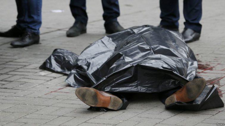 Прямо посреди центра города на Львовщине расстреляли местного авторитета