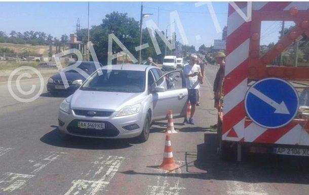 «Срочно приехала скорая»: Украинские журналисты попали в опасную ДТП в Запорожье