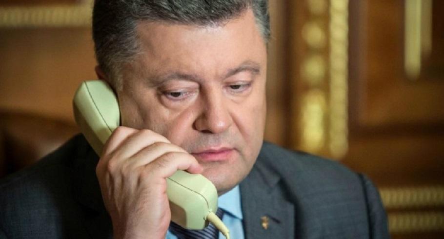 «Проинформировал генерального секретаря …»: Зачем Порошенко звонил генсеку НАТО