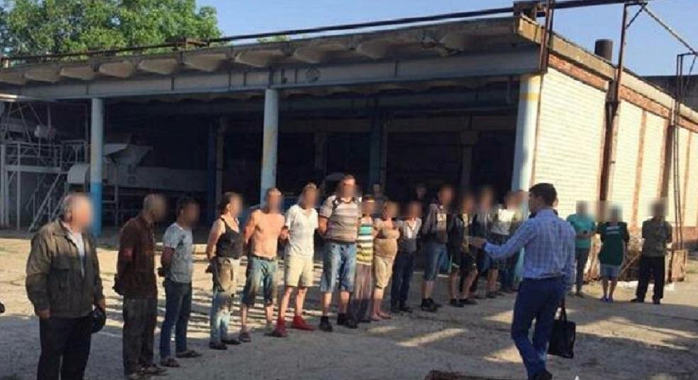 В нечеловеческих условиях держали в рабстве 30 украинцев: Среди освобожденных беременная женщина