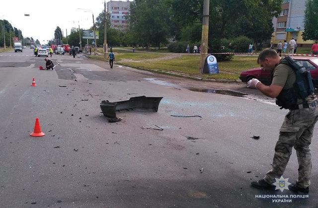 Срочно! Мощный взрыв в центре Черкасс, погиб бизнесмен