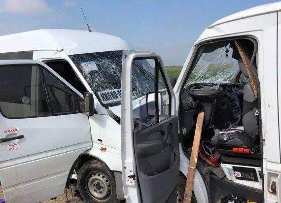 Смертельное ДТП лоб в лоб: Столкнулись маршрутка и микроавтобус