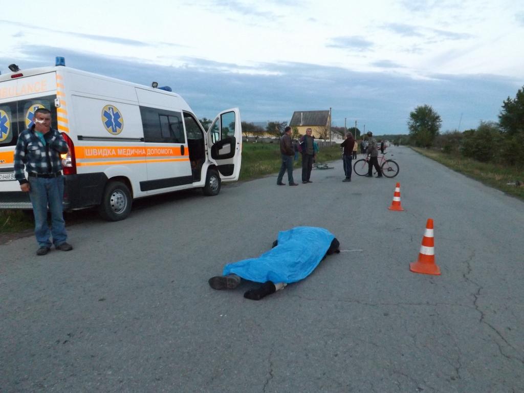Пьяный в зюзю сотрудник львовской полиции насмерть сбил велосипедистку