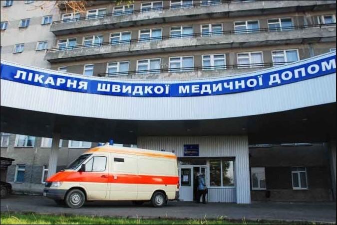 Историю болезни положил себе в штаны: Во львовской больнице мужчина выпрыгнул с 8 этажа