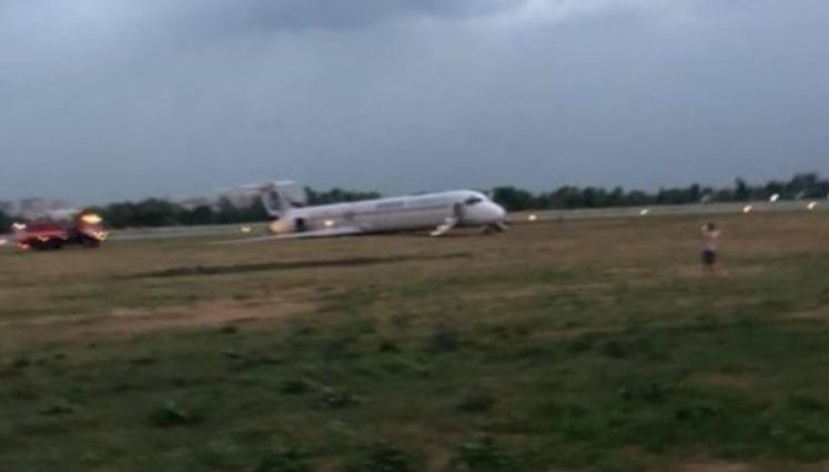 «Мы все были готовы к смерти»: Пассажир с рейса Анталия-Киев показал видео ЧП с самолетом