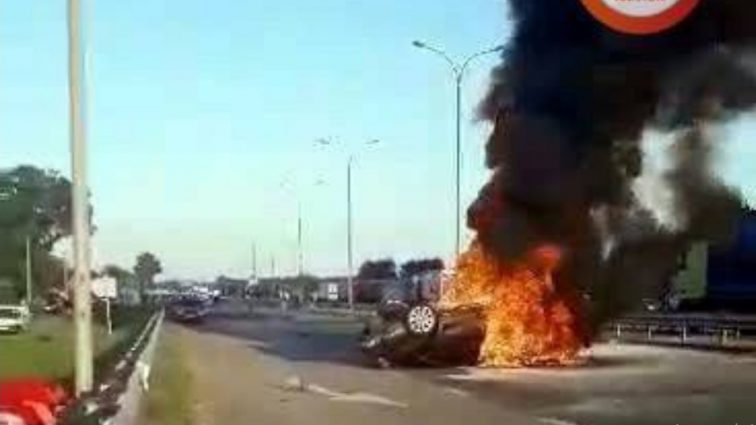«Машина летела со звуком самолета»: Пассажирка авто заживо сгорела во время ДТП