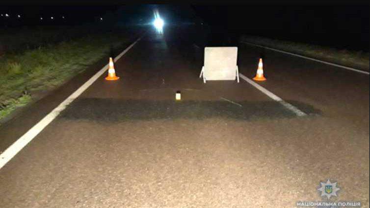 Смерть пришла мгновенно: микроавтобус на высокой скорости сбил пешехода