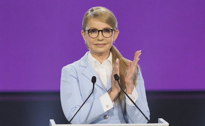 Официально: Тимошенко идет на выборы президента «не для того, чтобы проиграть»