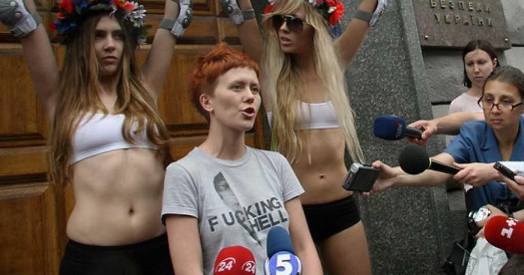 Проплаченные акции и бегство в Швейцарию: Что известно о основательнице «Femen» Анне Гуцол и о ее тайной связи с Рабиновичем