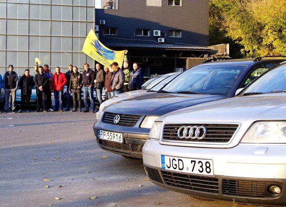 «Осенью планируют снова организовать масштабную акцию» Владельцы «евроблях» выдвинули новые требования Раде