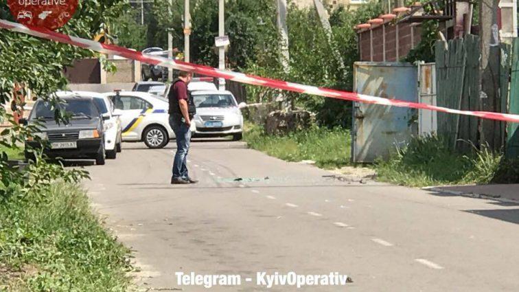 Вооруженное нападение на Киевщине: опубликовано первое видео с места ЧП