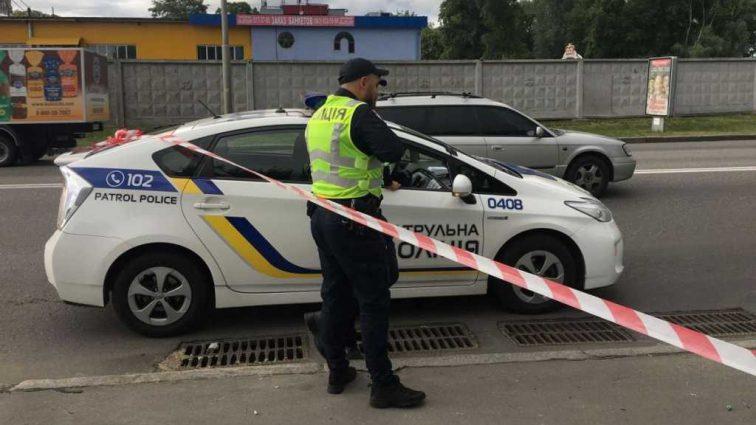 В центре Киева неизвестный устроил стрельбу (Видео)