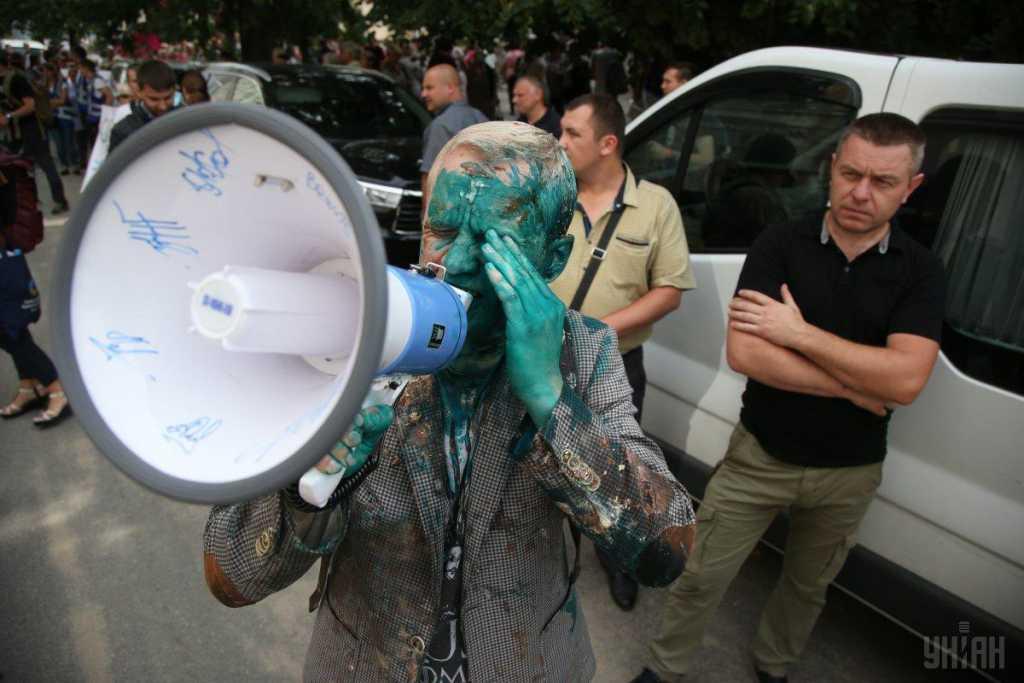 Стало известно о состоянии Шабунина, после нападения у здания САП